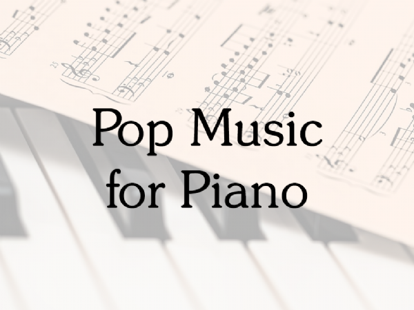 Pop Music for Piano